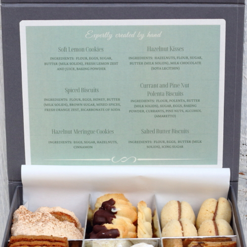 Gift box of biscuits - lovingly baked by anthea