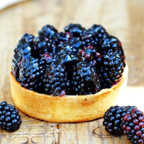 Blackberry tart - lovingly baked by anthea