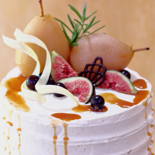 Pear Cardamom Cake by Lovingly Baked by Anthea